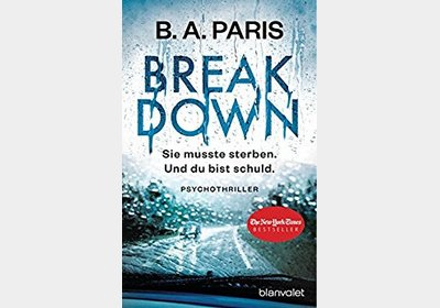 B. A. Paris - Breakdown